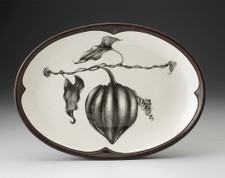 Small Oval Platter: Acorn Squash