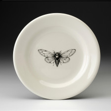 Bread Plate: Open-Winged Cicada