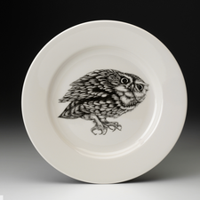 Dinner Plate: Screech Owl #2