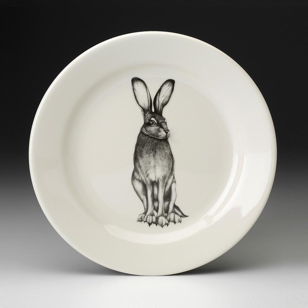 Salad Plate Tall Hare Laura Zindel Design