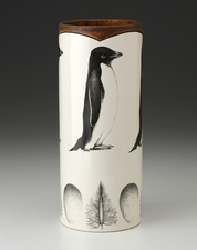Large Vase: Adelie Penguin