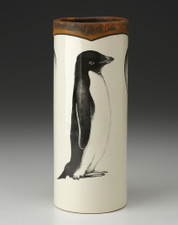 Small Vase: Adelie Penguin