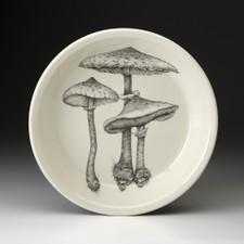 Pie Plate: Parasol Mushroom #4