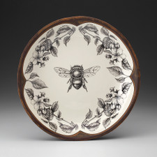 Honey Bee Small Round Platter - LAURA ZINDEL DESIGN