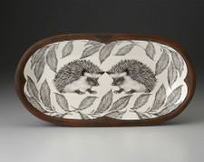 Rectangular Serving Dish: Hedgehog #1