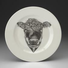 Dinner Plate: Hereford Cow
