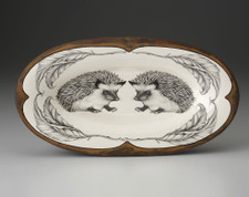 Oblong Serving Dish: Hedgehog #1