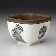 Small Square Bowl: Chipmunk #3