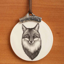 Ornament: Fox Portrait