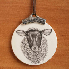 Ornament: Suffolk Sheep