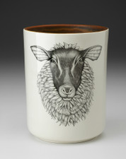 Utensil Cup: Suffolk Sheep