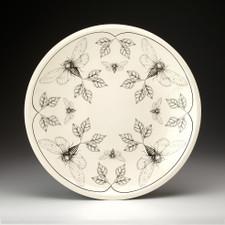 Large Round Platter: Cicada