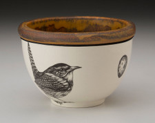Small Round Bowl: Carolina Wren