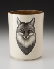 Utensil Cup: Fox Portrait