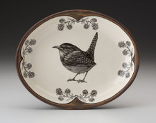 Small Serving Dish: Carolina Wren
