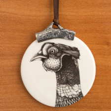 Ornament: Pheasant Head
