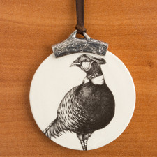 Ornament: Pheasant #1