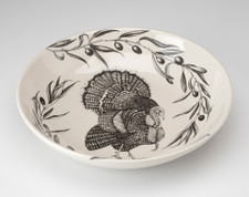 Shallow Bowl: Turkey