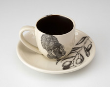 Espresso Cup and Saucer: Turkey