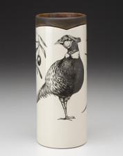 Small Vase: Pheasant