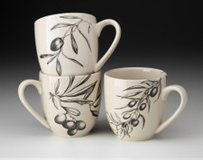 Set of 3 Mugs: Olive