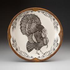 Small Round Platter: Turkey