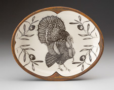 Small Serving Dish: Turkey