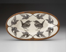 Oblong Serving Dish: Caroline Wren