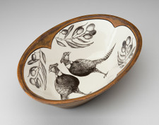 Large Serving Dish: Pheasant