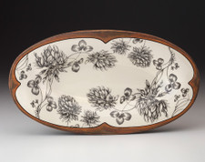 Oblong Serving Dish: Clover