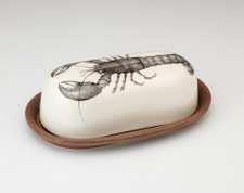 Butter Dish: Lobster
