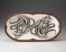 Rectangular Serving Dish: Octopus