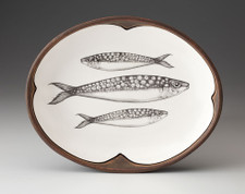 Small Serving Dish: Sardines