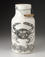 Jug with Handle: Blue Crab