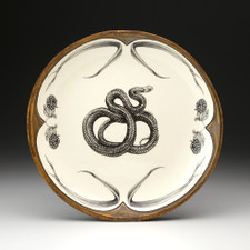 Small Round Platter: Mexican Rat Snake