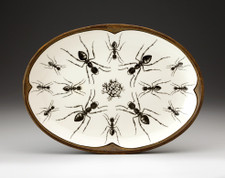 Small Oval Platter: Ant