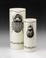 Large Vase: Scarab Beetle