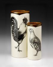Large Vase: Rooster