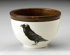 Small Round Bowl: Raven