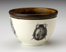 Small Round Bowl: Lady Beetle