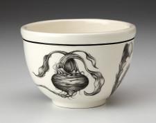 Small Round Bowl: Beet