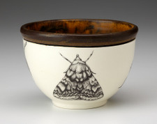 Small Round Bowl: Oak Moth (Closed-Wing)