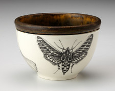 Small Round Bowl: Hawk Moth