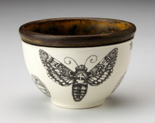 Small Round Bowl: Sphinx Moth