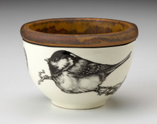 Small Round Bowl: Coal Tit