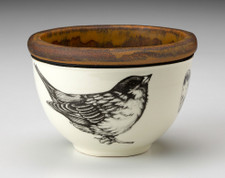 Small Round Bowl: Tree Sparrow