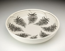 Small Pasta Bowl: Wood Fern