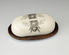 Butter Dish: Honey Bee