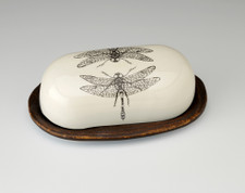 Butter Dish: Dragonfly