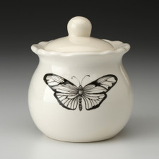 Sugar Bowl: Marble Butterfly